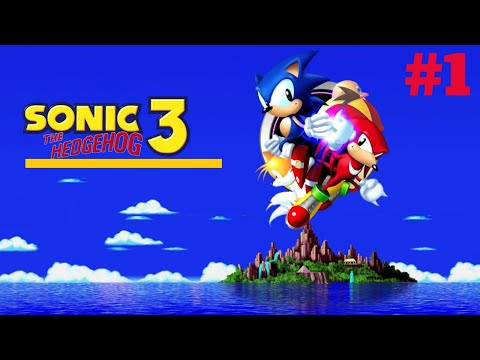 [Mega Drive/Genesis] Sonic the Hedgehog 3 - Walktrough # 1