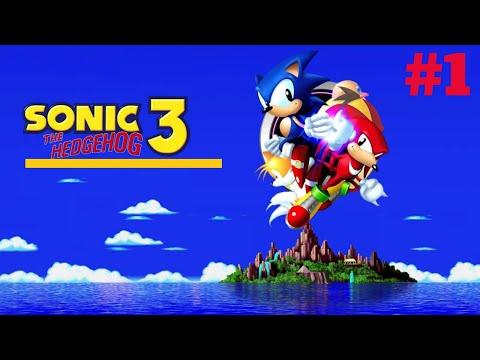 [Mega Drive/Genesis] Sonic the Hedgehog 3 - Walktrough # 1