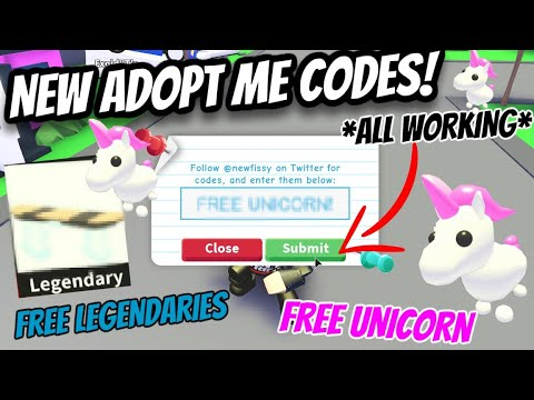 *NEW* ADOPT ME CODES! *ALL WORKING* 2019 FREE CHRISTMAS EGG Roblox - Social network sharing ...