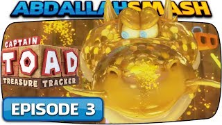 Captain Toad: Treasure Tracker [Nintendo Switch] - 100% Walkthrough Episode 3 - Part 2!  🔴LIVE!