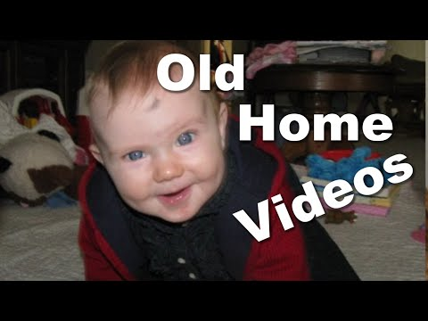 Our Autistic Preteen from 0-2 in Old Videos