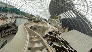 Expedition of Volcano Onride Mounted Go Pro 1080P 60FPS POV Happy Valley Tianjin