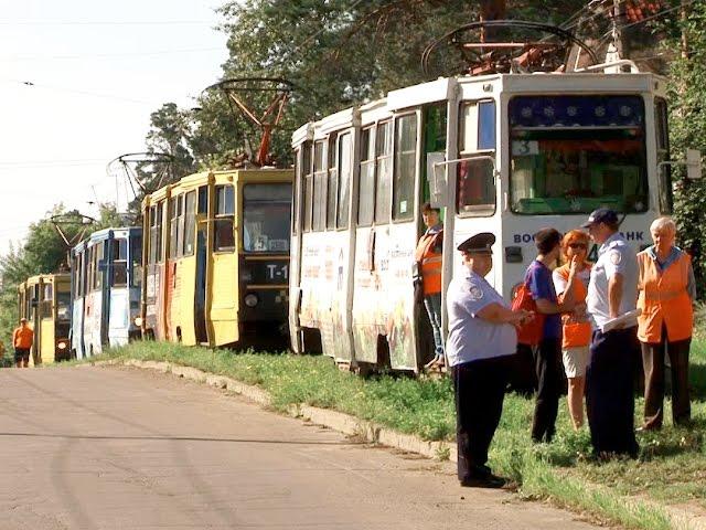 Трамваем управлял нетрезвый водитель!