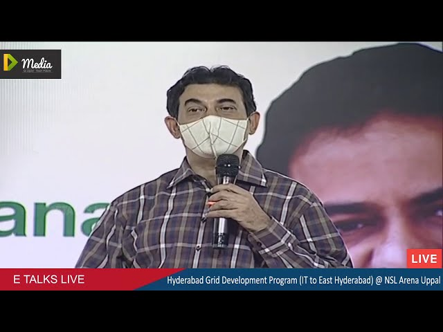 Jayesh Ranjan IT Principal Secretary Govt of Telangana