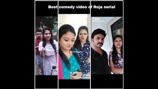Roja Serial- Roja And Roja Serial Team Comedy Dubsmash