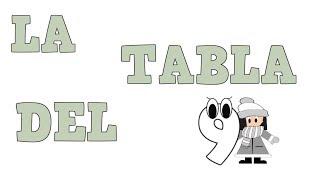 La Tabla del 9 -  Tablas de Multiplicar - Vídeos educativos para Niños y Bebés - Paty y Poty