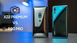 Sony Xperia XZ2 Premium vs Huawei P20 Pro Camera Comparison!