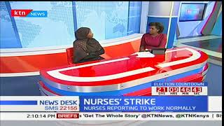 KNUN official, Halima Adan on Nurses' strike
