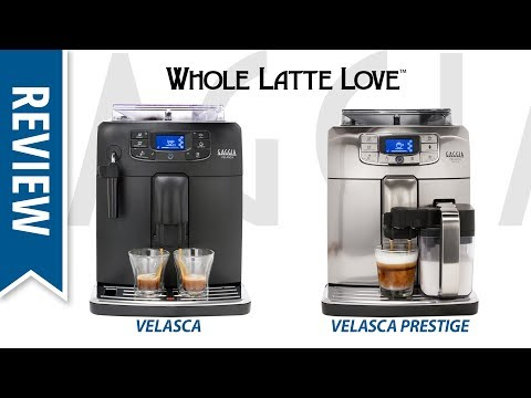 Review: Gaggia Velasca & Velasca Prestige Bean to Cup Coffee Machines