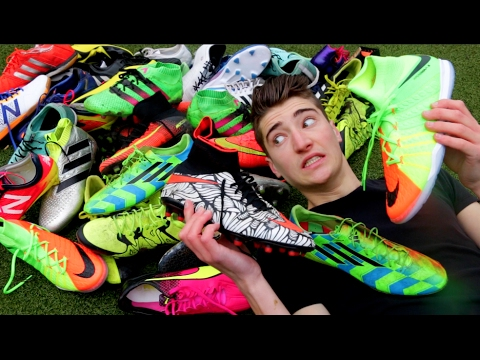 1543d8aeef6f 10 372 Worth of FOOTBALL BOOTS My Collection 2017 play