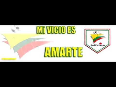 """""""CANTOS DE REBELION AURIVERDE NORTE - REAL CARTAGENA"""" Barra: Rebelión Auriverde Norte • Club: Real Cartagena"""