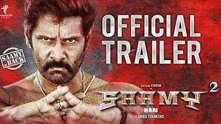 Saamy 2 Official Trailer   Chiyaan Vikram   Keerthy Suresh   Hari