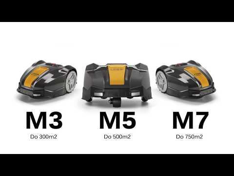 Roboty koszące STIGA Autoclip Seria M