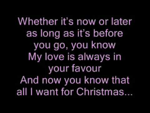 All I Want for Christmas Is Us - Tristan Prettyman ft./ Jason Mraz [Sing-A-Long]
