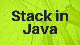 #10 Stack Implementation using Java Part 1   Push Pop Peek Methods
