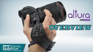 New Altura Photo Rapid Fire Camera Hand Strap | Overview