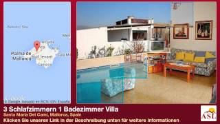 preview picture of video '3 Schlafzimmern 1 Badezimmer Villa zu verkaufen in Santa Maria Del Cami, Mallorca, Spain'
