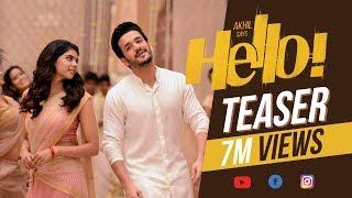 HELLO  Teaser - Akhil Akkineni  Kalyani Priyadarshan