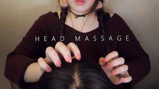 ASMR Realistic! 10 Scalp Massage & Hair Brushing 😚 (No Talking)