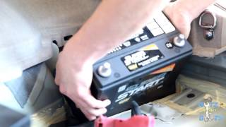 2010-2015 Toyota Prius 12V battery replacement