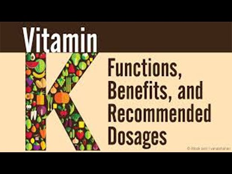 Video Know Why Vitamin K is Important For Our Body