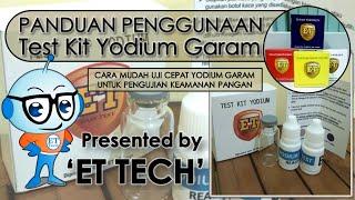 Test Kit Yodium Garam - Salt Iodine Testkit - Teskit untuk Tes Iodium