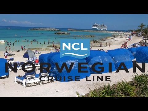 Great Stirrup Cay (Norwegian Cruise Line's Private Island) 2017 Tour & Review
