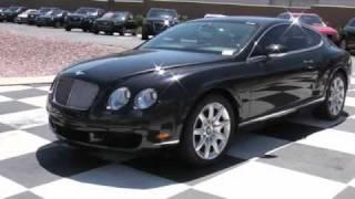2007 Bentley GT Black Tan