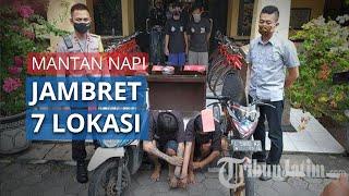 Dibebaskan untuk Cegah Corona di Lapas, Napi Asimilasi Balik Menjambret di 7 Titik Kota Surabaya