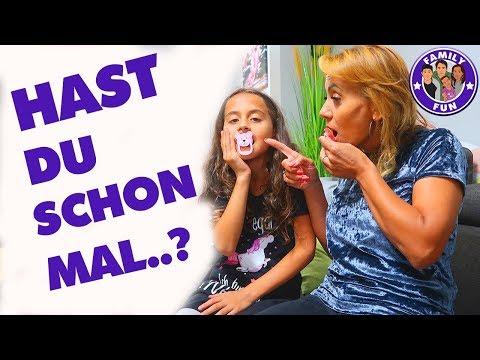 HAST DU SCHON MAL...? Nimmt MILEY noch SCHNULLER? -  Family Fun