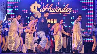 Stage performance of Singer Sukhwinder Singh in Kanpur