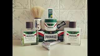 Proraso Green, DERBY EXTRA Green und Mühle R89