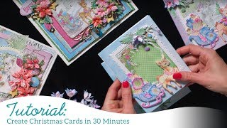 Create Christmas Cards in 30 Minutes