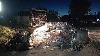 2-е погибли и 4 пострадали в ДТП с автобусом