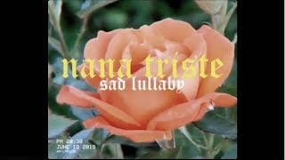NANA TRISTE (sad lullaby) - Natalia Lacunza, Guitarricadelafuente | Lyric video in English