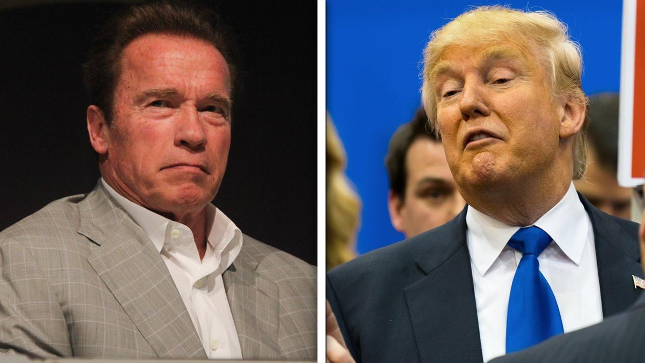 Arnold Schwarzenegger And Trump Fight On Twitter thumbnail