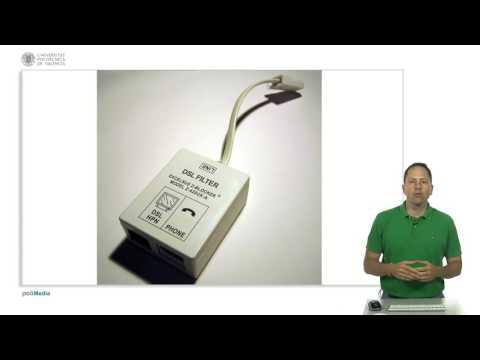 Redes de ordenadores. Redes cableadas I. Cables telefónicos, ADSL, RDSI, cables coaxia | 33/48 | UPV