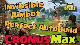 Fortnite Battle Royal || #Aimbot + Auto-Build + No Recoil [CronusMax