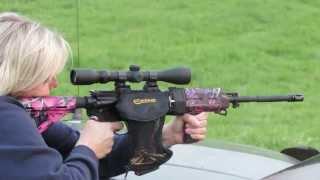 AR 15 With The Muddy Girl Camo