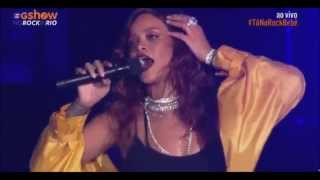 Rihanna Rock In Rio 2015 - Full HD