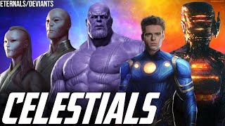 The Phase 4 Eternals War + SWORD & The Avengers Endgame Celestials Thanos Theory