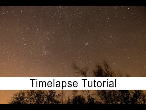 Here's What You'll Need For Your Very First Timelapse