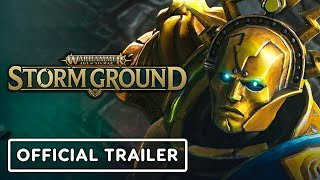 Warhammer Age of Sigmar: Storm Ground - Official Gameplay Overview Trailer by GameTrailers