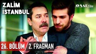 """Agah sır perdesini araladı! Zalim İstanbul 26. Bölüm 2. Fragmanı Yayında!  Ceren şok eden sırrı öğreniyor! Cenk bedel ödeyecek mi? Agah Şeniz'e karşı şimdi ne yapacak? Tüm cevaplar 13 Ocak Pazartesi akşamı Kanal D'de.   Yapımcılığını Avşar Film'in üstlendiği ZALİM İSTANBUL 26. Bölüm 13 Ocak Pazartesi akşamı Kanal D'de.   Zalim İstanbul 25. Bölümden en özel sahneleri izlemek için tıklayın; https://www.youtube.com/playlist?list=PLGq8JCkcsJKCKJGLHp_isBt_6m26mWMiT  Her bölümden diziye özel kamera arkası görüntüleri, röportajlar ve çok daha fazlası için ZALİM İSTANBUL YouTube kanalında.  HEMEN ABONE OLUN; https://www.youtube.com/zalimistanbul  Avşar Film YouTube kanalına abone olarak yüklenen tüm videolardan anında haberdar olabilirsiniz.  HEMEN ABONE OLUN; https://www.youtube.com/AvsarFilm  """"ZALİM İSTANBUL"""" birinci sezonun tüm bölümlerini izlemek için tıklayın; https://www.youtube.com/playlist?list=PLGq8JCkcsJKBqzr8yUwX6OPqJrSwopGO5  Oyuncular: Fikret Kuşkan (Agah Karaçay), Deniz Uğur (Seher Yılmaz), Mine Tugay (Şeniz Karaçay), Ozan Dolunay (Cenk Karaçay), Simay Barlas (Damla Karaçay), Berker Güven (Nedim Karaçay), Bahar Şahin (Ceren Yılmaz), Sera Kutlubey (Cemre Yılmaz), İdris Nebi Taşkan (Civan Yılmaz), Ayşen Sezerel (Neriman), Gamze Demirbilek (Nurten)  Yapımcı: Şükrü Avşar Yönetmen: Gökçen Usta Öykü: Sırma Yanık Senaryo: Aysun Erdoğan - Seda Çakır Avunduk Görüntü Yönetmeni: Oktay Başpınar Sanat Yönetmeni: Canan Özkan  Resmi Sosyal Medya Hesapları: https://www.instagram.com/zalimistdizi https://www.facebook.com/zalimistdizi  https://www.twitter.com/zalimistdizi  #zalimistanbul #fragman #dizi #avşarfilm #kanald"""