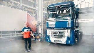 ТАКОГО ВЫ ЕЩЕ НЕ ВИДЕЛИ! 25 СЕКРЕТОВ кабины РЕНО МАГНУМ! Что в кабине грузовика?