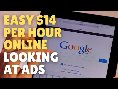 , title : 'Make $14/Hour Watching and Seeing Ads Online 2021