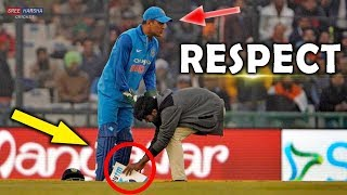 Indian Cricket Team ► #Respect ► Most Emotional & Beautiful Moments ► Updated 2018