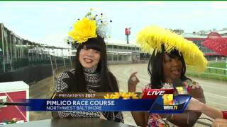 Video: Choosing the right hat for Preakness