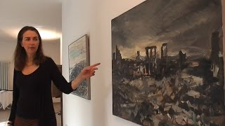 preview picture of video 'Ingrid Köhler, Malerin, Ausstellung Zorneding'