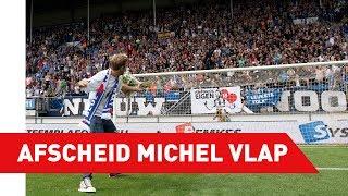 """Michel Vlap: """"Geen afscheid maar een tot ziens"""""""